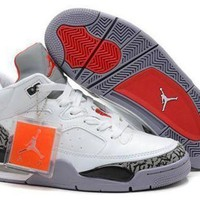 Cheap Air Jordan Son Of Mars Low Shoes White Cement Red