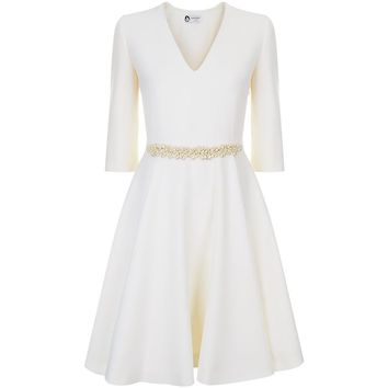 Lanvin Embellished Waist Dress | Harrods.com