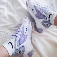 Nike Zoom 2K Trending Women Retro Casual Running Sneakers Sport Shoes