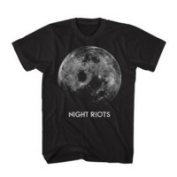 'Moon' T-Shirt \\ Black
