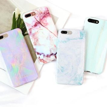 Granite Marble Texture Pattern Phone Cases for iPhone