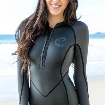 Billabong - Salty Daze LS Springsuit | Black