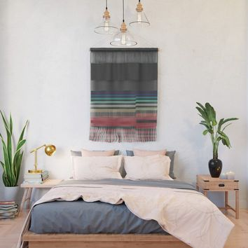 Let's Stripe Wall Hanging by duckyb