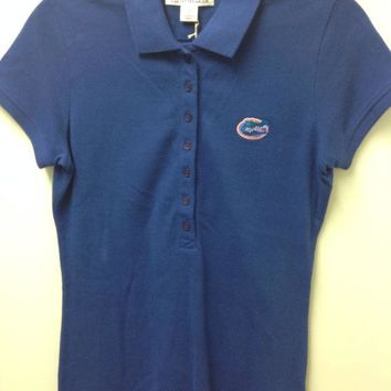 DCCKG8Q NCAA Florida Gators C&B Blue Ladies Polo
