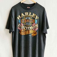 Vintage Pappy's Harley Tee- Assorted One