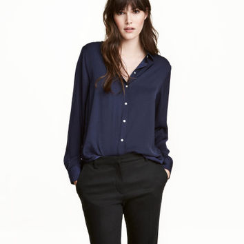H&M Long-sleeved Blouse $19.99