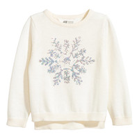 Sequined Sweater - from H&M