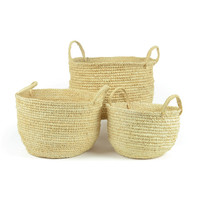 Go Home Village Set of Three Baskets - 18573