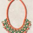 Alizarin Lattice Necklace