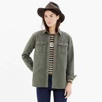 FIELD-BOUND CARGO SHIRT-JACKET