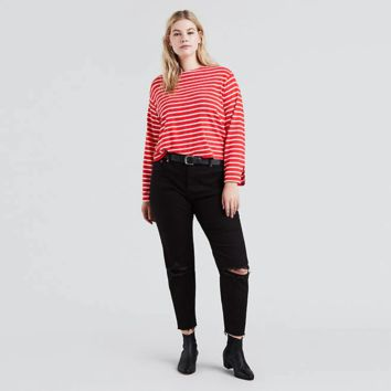 Wedgie Fit Jeans (plus) - Black | Levi's® US