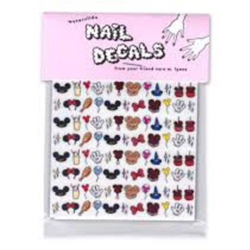 Sara M. Lyons Nail Decals- At The Park