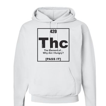 Chronic the Hemp Hog funny weed pot sweat shirt Crewneck Pullover Sweatshirt