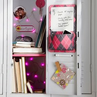 Dark Pink Locker String Lights
