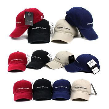 Unisex Mens Womens NY Premier Flipper Faded Washed Out Baseball Cap Trucker Hats