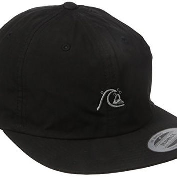 Quiksilver Men's Vizual Hat, Black, One Size