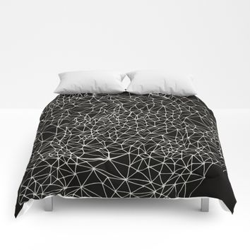 Geo Webbed Comforters by DuckyB