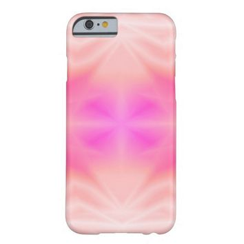 Pink Splash Barely There iPhone 6 Case