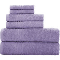 Walmart: Mainstays Essential True Colors Bath Towel Collection, 6-Piece Set