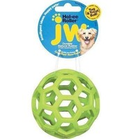 JW Pet Hol-ee Roller Rubber Ball Dog Toy Small 3""