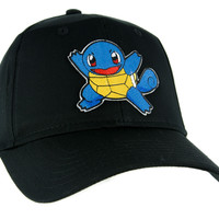 Squirtle Pokemon Go Trainer Hat Baseball Cap Alternative Clothing Gotta Catch Em All