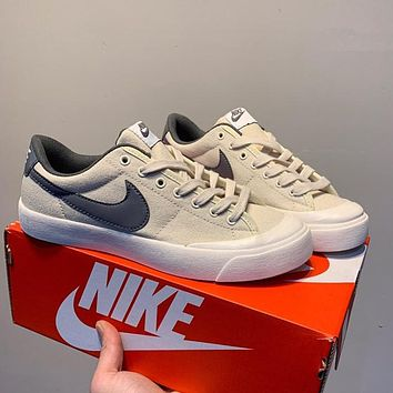 9fc1930e3e0c Nike Sb Blazer Zoom Low Xt Canvas Baotou Lower Band Sports Board Shoes