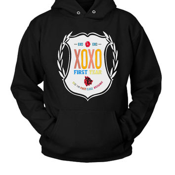 Exo Xoxo Hoodie Two Sided