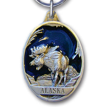 Key Ring - Alaska Moose