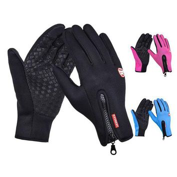 DCCK7N3 New Arrived Brand Women Men M L XL Ski Gloves Snowboard Gloves  Motorcycle Riding Winter Touch Screen Snow Windstopper Glove