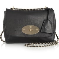 Mulberry - Lily textured-leather shoulder bag