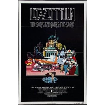 The Song Remains The Same Poster 27inx40in led zeppelin