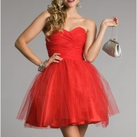 Taylor-Red Prom Dresses