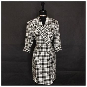 LaBelle Brand Checkered Dress, US Size 11