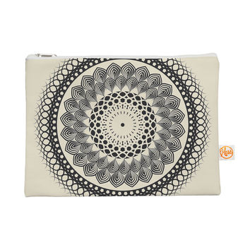"Famenxt ""Black & White Boho Mandala"" Geometric Everything Bag"