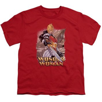 Jla - Wonder Woman Short Sleeve Youth 18/1