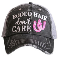 Hat - Snap Back - Rodeo Hair Don't Care