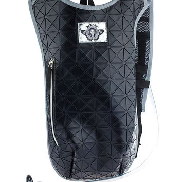 Dan-Pak Black Tar Hydration Backpack