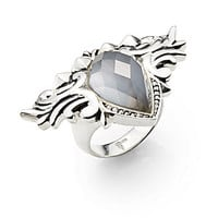 Stephen Webster - Quartz Doublet & Sterling Silver Ring