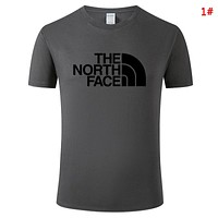 The North Face Summer New Fashion Letter Print Leisure Women Men Top T-Shirt 1#