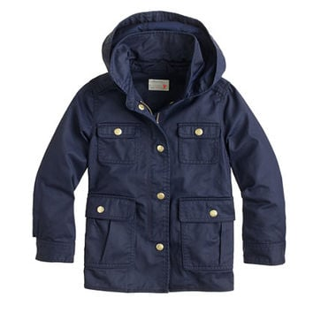 crewcuts Girls Hooded Downtown Field Jacket