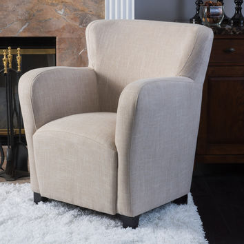 Ashlin Designed for Comfort Fabric Wingback Chair