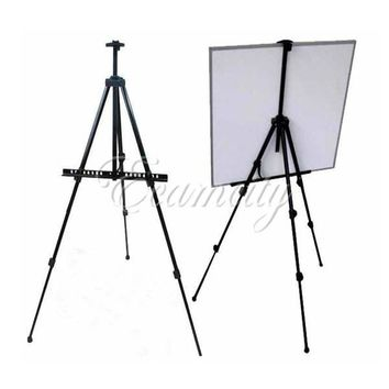 New Arrival Outdoors Aluminium Alloy Folding Painting Easel Frame Adjustable Tripod Display Shelf And Carry Bag