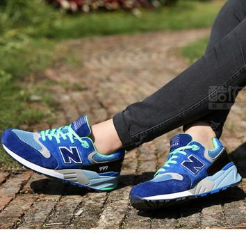 New Balance ML999MMT Fashion Running casual shoes Blue N