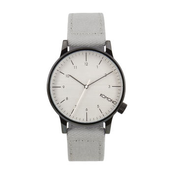 Komono Heritage Series Watch Winston Duotone Grey