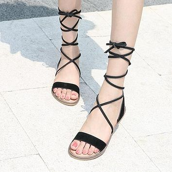 Fashion Hot-selling Lace Sandals Women's New Sandals Summer Sandals