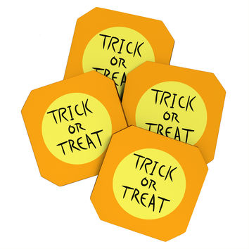 Lisa Argyropoulos Trick or Treat Coaster Set