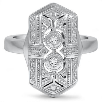 14K White Gold The Rumina Ring