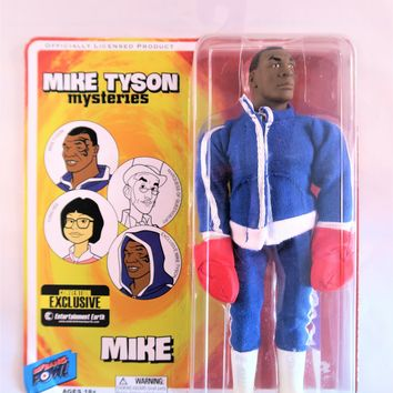 Mike Tyson Mysteries Entertainment Earth Convention Exclusive Action Figure