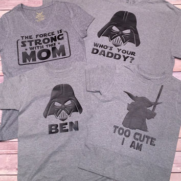 Too Cute I Am Star Wars Shirt