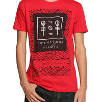 Twenty One Pilots Red Scale T-Shirt